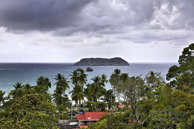 Playa Espadilla – Viewed from Hotel San Bada, Quepos, Puntarenas Province, Costa Rica