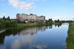 Киев, Троещинский канал