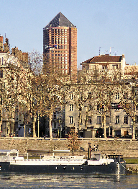 Lyon (69) 23 décembre 2012.