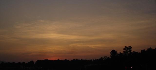 Virginian sunset