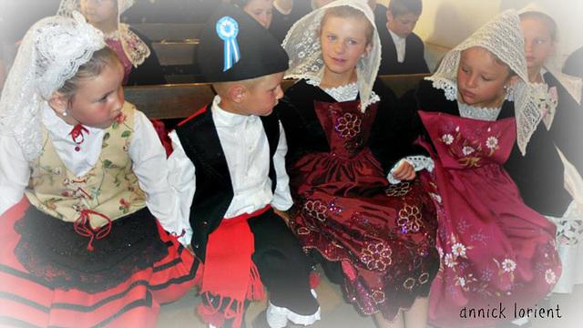 enfants des asturies et de la bretagne