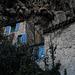Cotignac, under the cliff