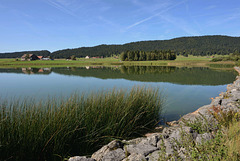 Le lac des Taillères (Jura neuchâtelois)