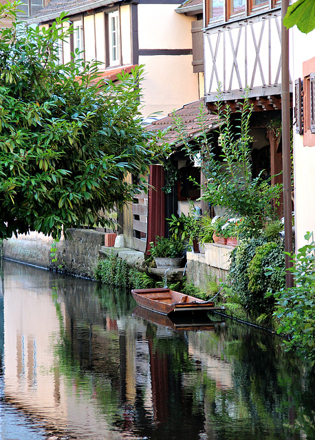 In Wissembourg - Am Kanal