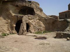 Caves for refuge.