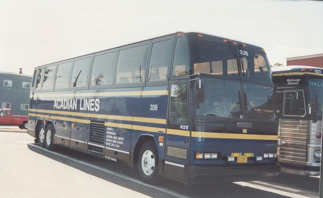 Acadian Lines 208 - 6 Sep 1992 (Ref 172-21)
