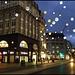 Oxford Circus tube and lights