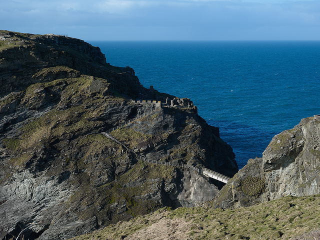 Cornwall - Tintagel Castle