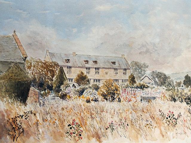 Pilsdon Manor (70x50 cm)
