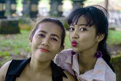 Aunt Mayang and her niece Rita
