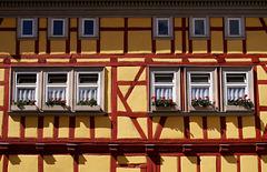 Fachwerk in Mühlhausen