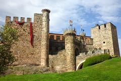Castillo de los Templarios à Ponferrada (Castille-et-León, Espagne)