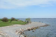 Denmark, On the Shore of the Straits of Øresund