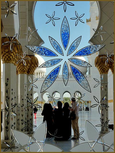 Turisti travestiti ad ammirare la Grande Moskea Sceikh Zajed (369)