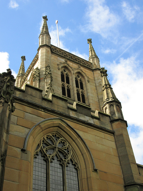 Parish church tower....Blackburn Cathedral.