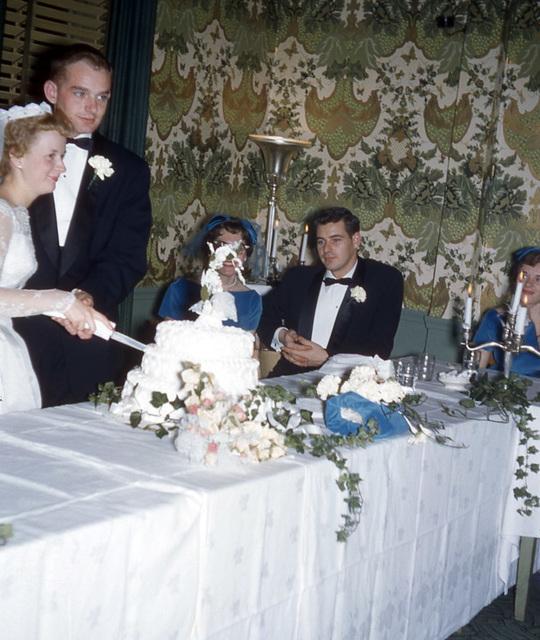Cutting the Cake in '58