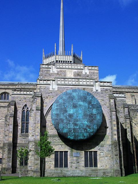 Artwork Blackburn Cathedral.