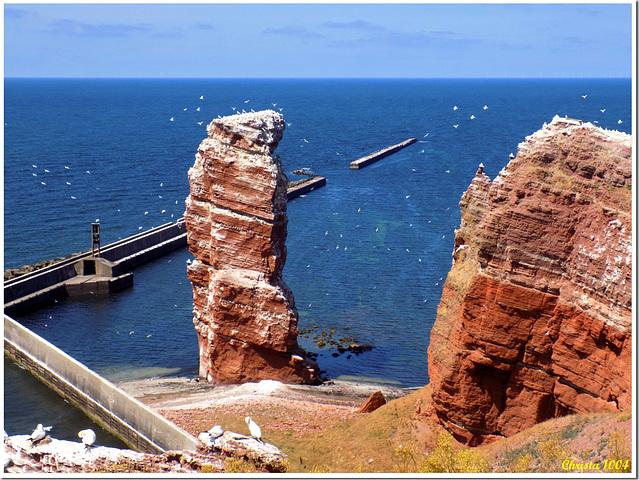 Helgoland's most famous landmark