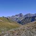 Auf dem Pass  Pass Diesrut in Lumnezia Kt Graubünden