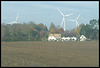 wind turbines spoiling the scene