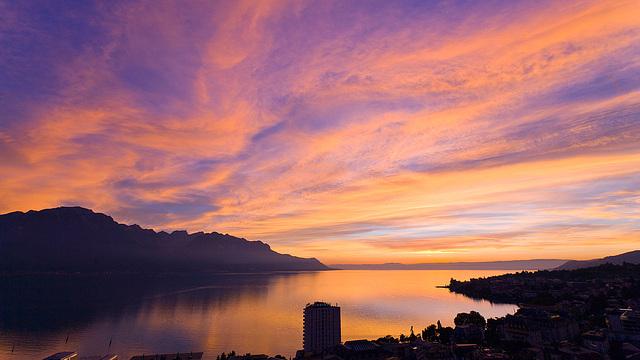 100914 Montreux crepuscule B