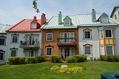 La maison colorée....