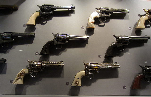 Pistol Display at the Autry Center (2634)