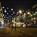 festive lights in Oxford Street