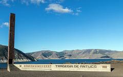 Denkmal der Tragödie von Antuco