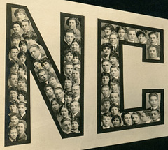 Heads of the Class of 1915, New Castle High School, New Castle, Pa. (Left)