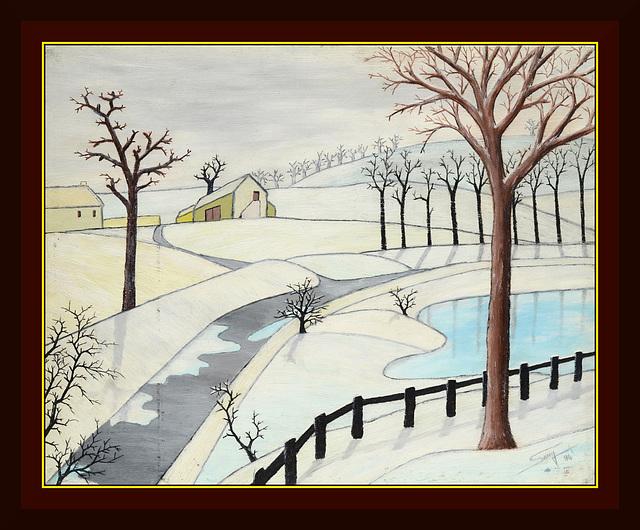 paysage d'hiver (1994)