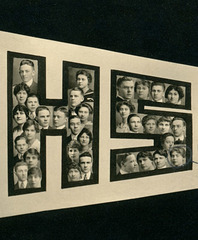 Heads of the Class of 1915, New Castle High School, New Castle, Pa. (Right)