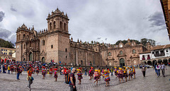 Desfile en la Catedral
