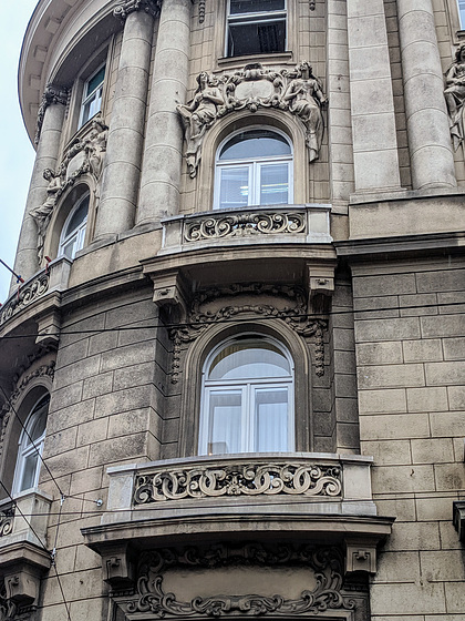 Zagreb balconies