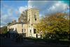 St Giles' Church in autumn
