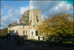 St Giles' in autumn