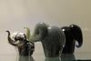 Three Glass Elephants 3