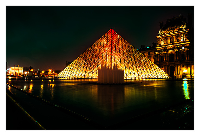 Louvre at Night, another POV...