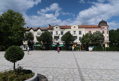 Razlog town square