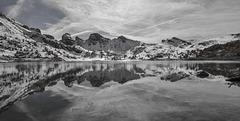 Lac d'Allos.................(on black , Z).