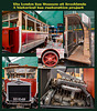 A collage of an interesting restoration project on a rare historic omnibus