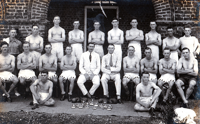 English army boxers c1925-30 possibly taken in India