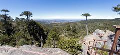 Piedra del Aguila - Blick zu den Anden (PiP)