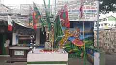 A dargah near Avenue Road in Bangalore
