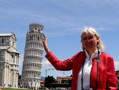 Ursula in Pisa, Schiefer Turm / Leaning tower