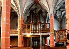 DE - Schleiden - Organ at St. Philippus und Jakobus