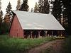 US Forest Service storage barn