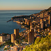 Monaco at sunrise
