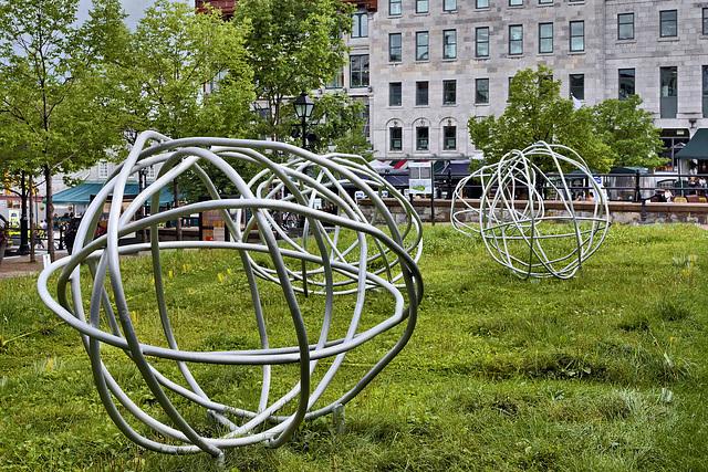 Gyring and Gimbling in the Wabe – Place de la Dauversière, Montréal, Québec