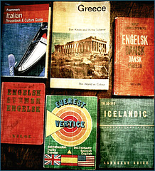 Dad's travel books